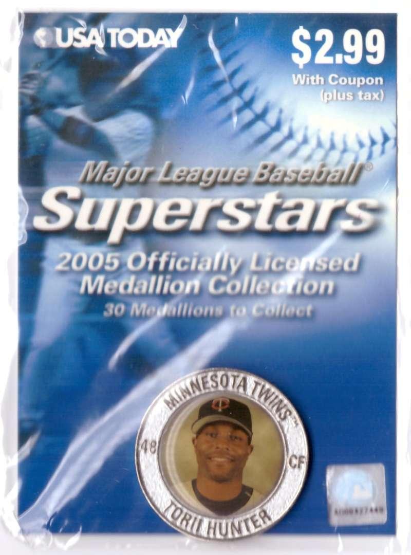 2005 USA Today Superstars Medallions - Torii Hunter