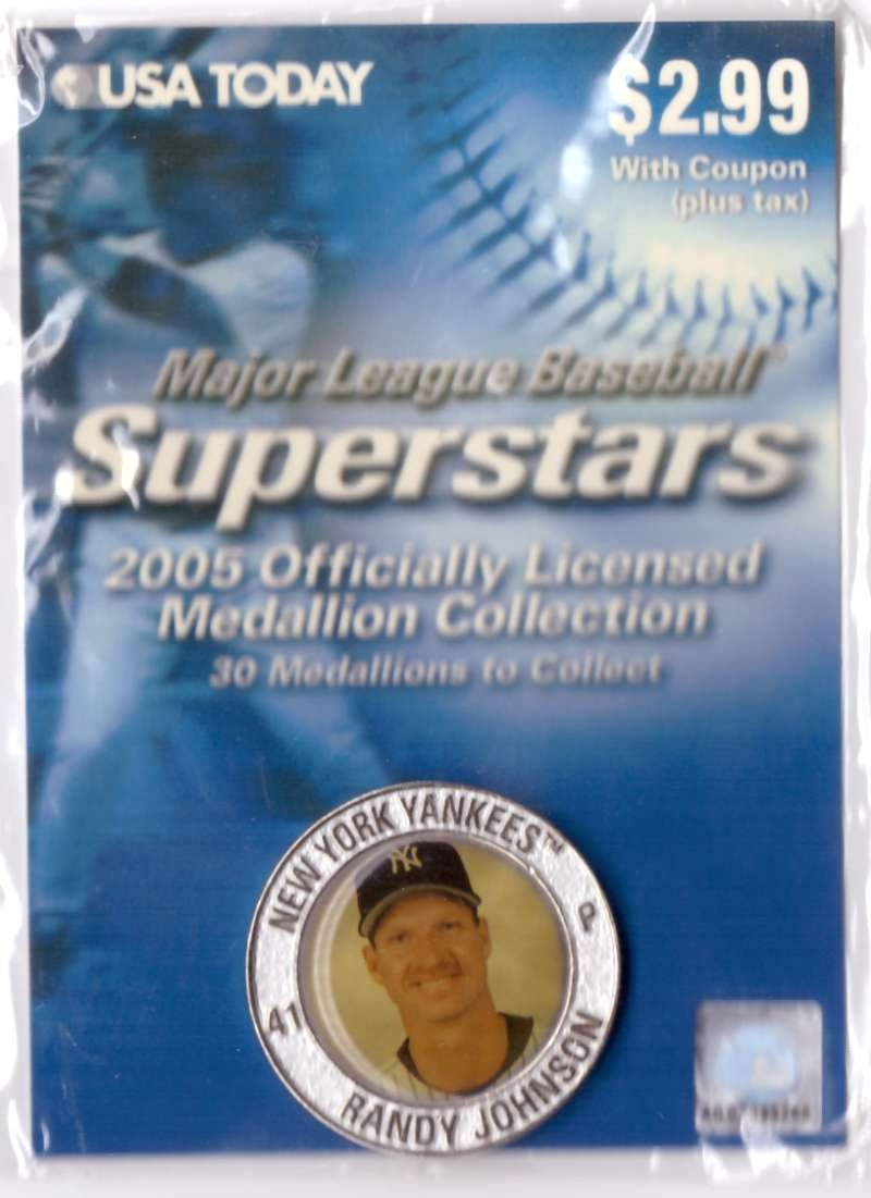 2005 USA Today Superstars Medallions - Randy Johnson
