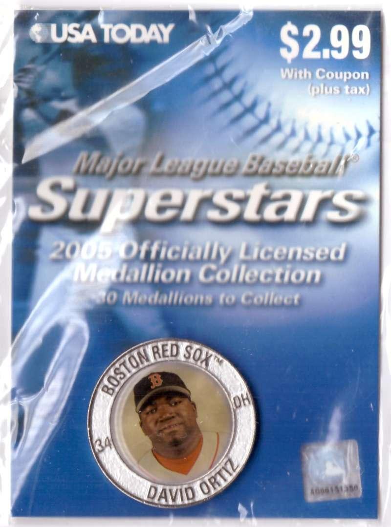 2005 USA Today Superstars Medallions - David Ortiz
