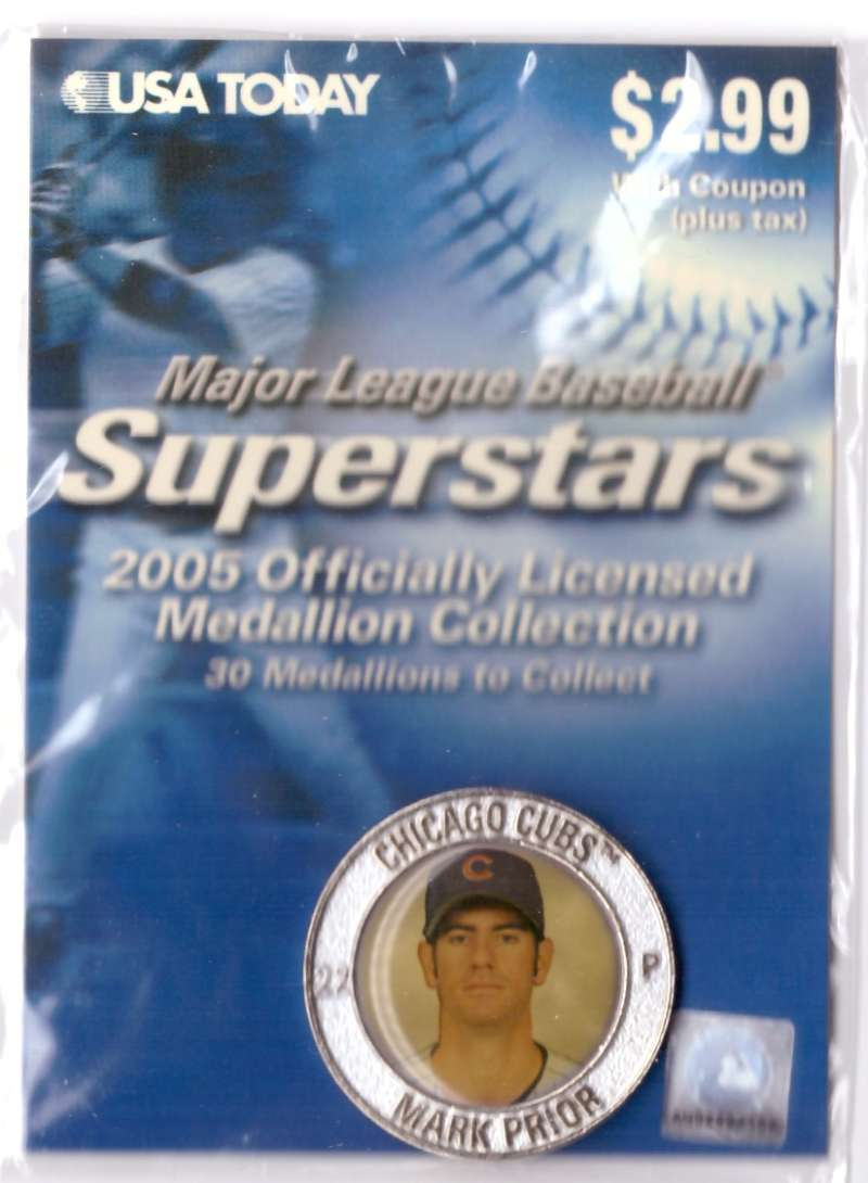 2005 USA Today Superstars Medallions - Mark Prior