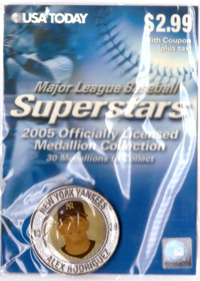 2005 USA Today Superstars Medallions - Alex Rodriguez