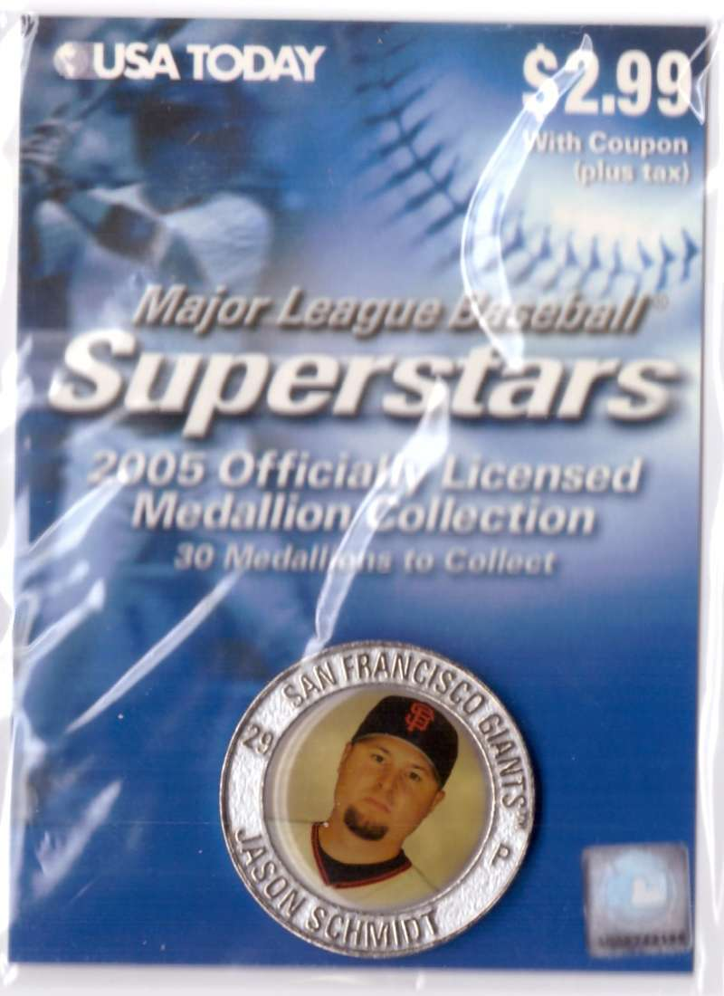 2005 USA Today Superstars Medallions - Jason Schmidt