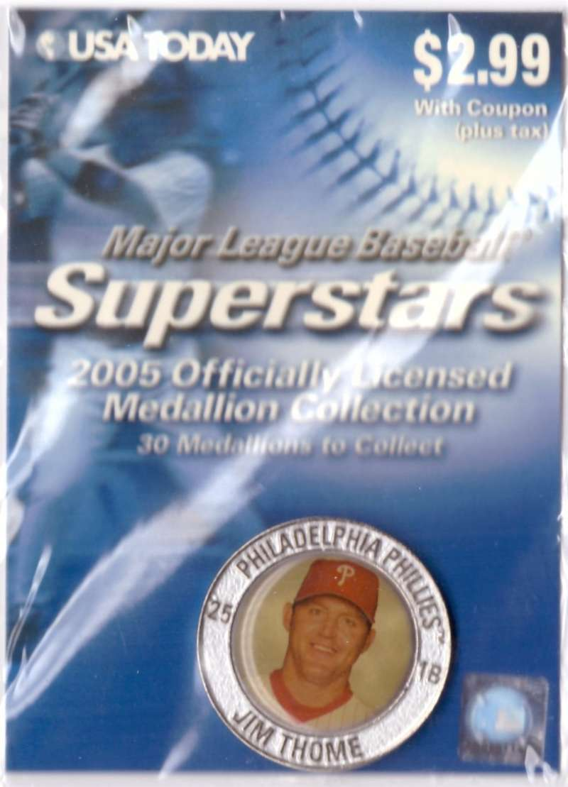 2005 USA Today Superstars Medallions - Jim Thome