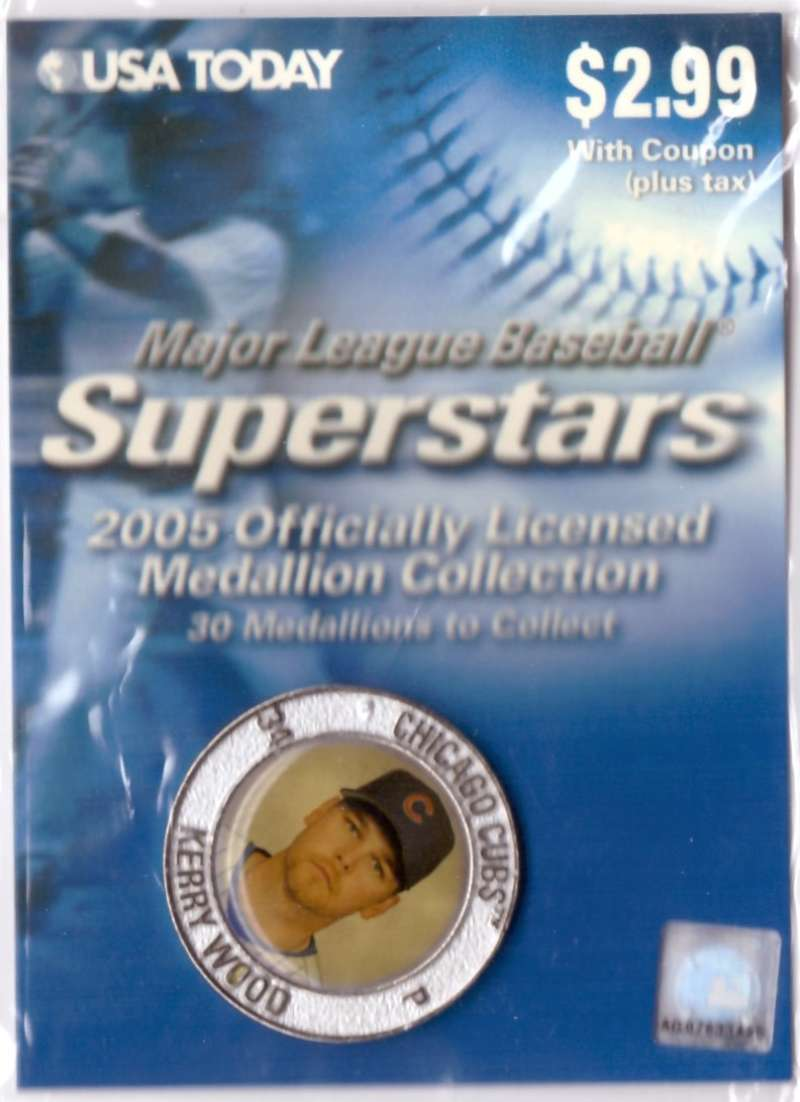 2005 USA Today Superstars Medallions - Kerry Wood