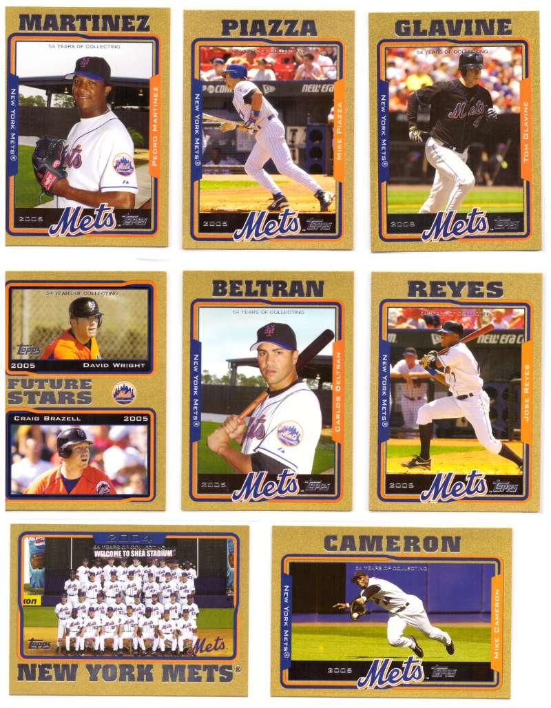 2005 Topps Gold (#ed/2005) - NEW YORK METS Team Set