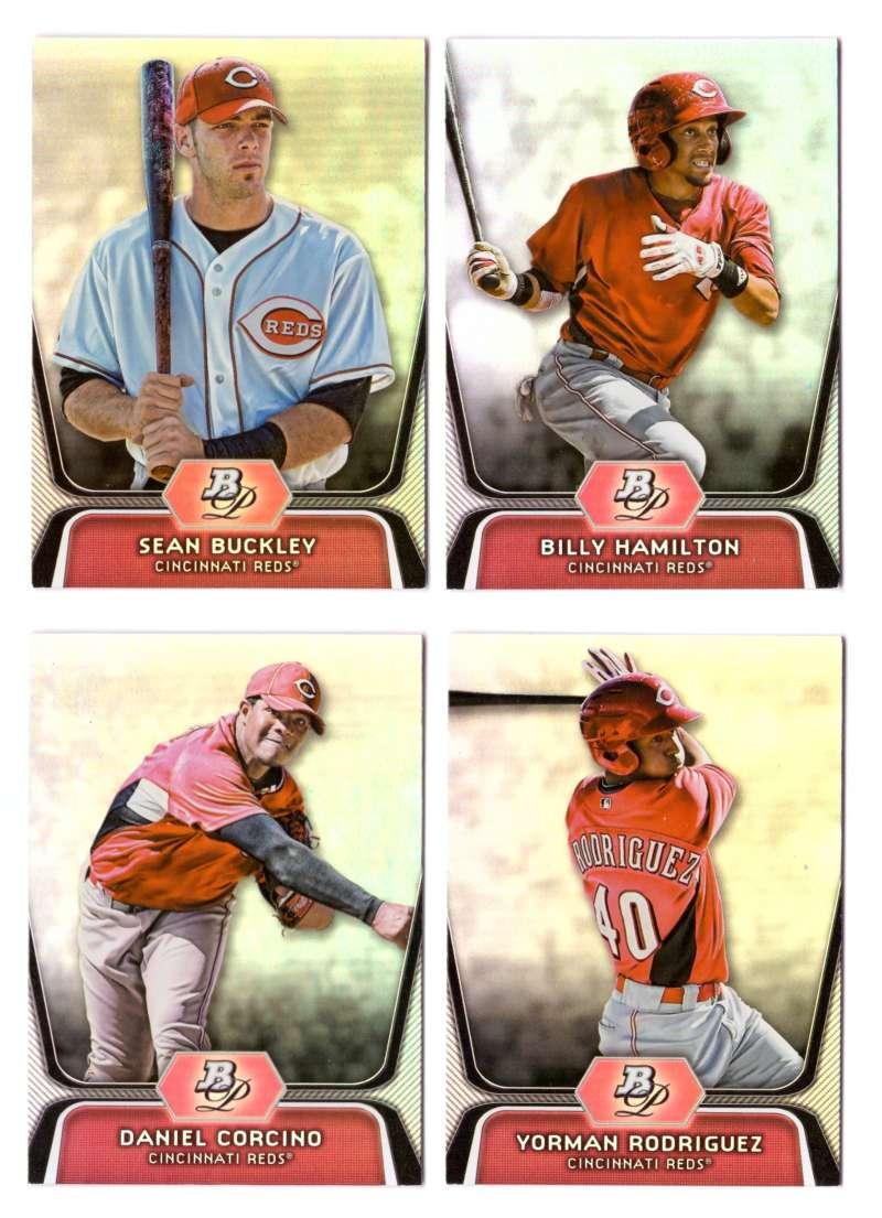 2012 Bowman Platinum Prospects - CINCINNATI REDS