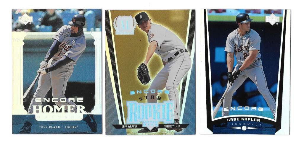 1999 Upper Deck Encore (1-180) - DETROIT TIGERS Team Set