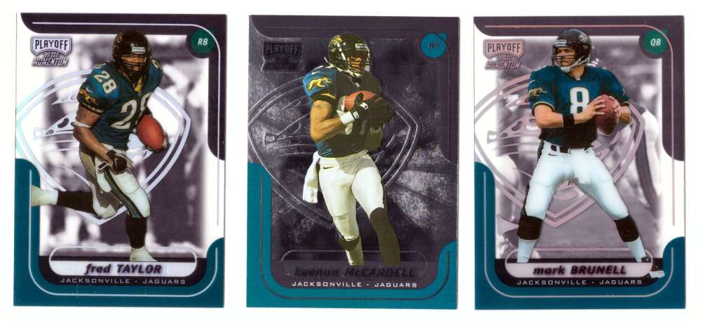 1999 Playoff Momentum SSD Football Team Set - JACKSONVILLE JAGUARS