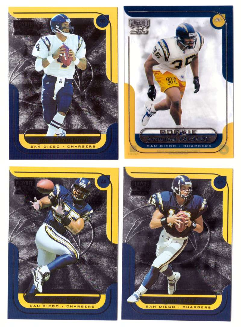 1999 Playoff Momentum SSD Football Team Set - SAN DIEGO CHARGERS