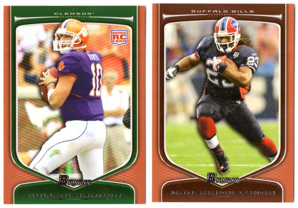 2009 Bowman Draft ORANGE Football - BUFFALO BILLS