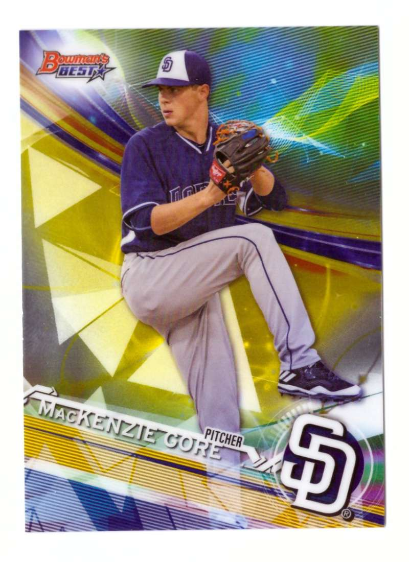2017 Bowman's Best Top Prospects - SAN DIEGO PADRES