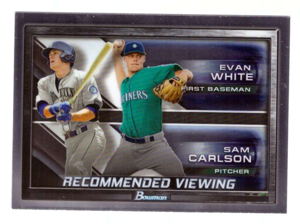 2017 Bowman Chrome Draft Recommended Viewing - SEATTLE MARINERS