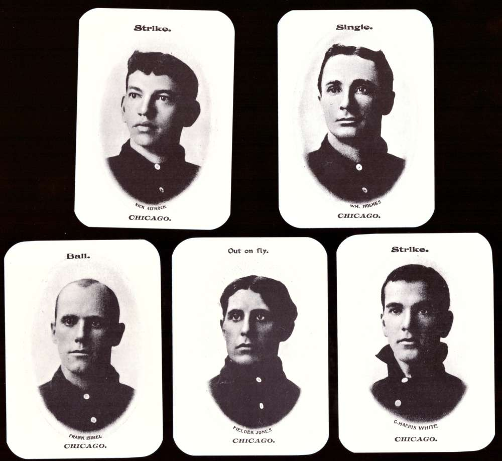 1904 Fan Craze AL WG2 Reprints - CHICAGO WHITE SOX