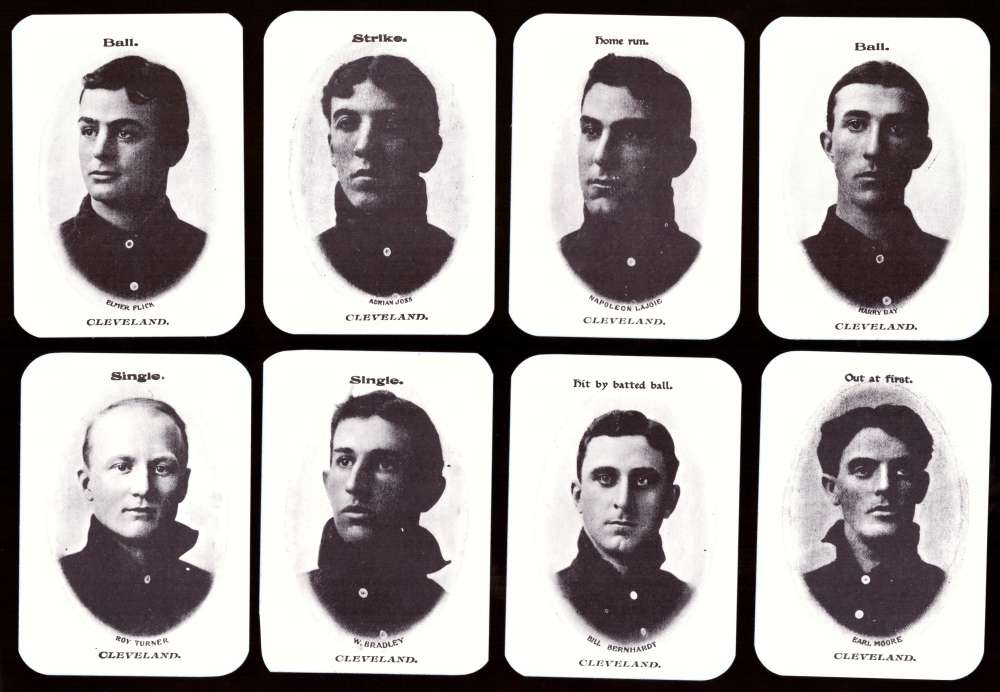 1904 Fan Craze AL WG2 Reprints - CLEVELAND NAPS