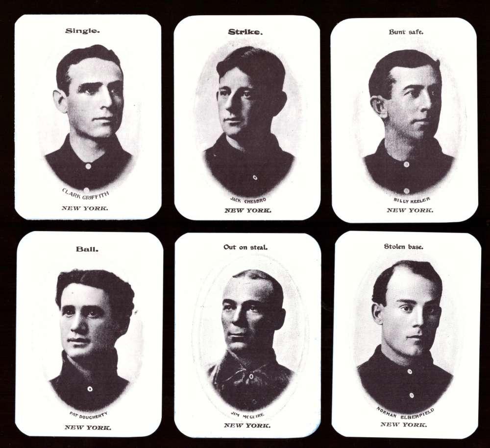 1904 Fan Craze AL WG2 Reprints - NEW YORK HIGHLANDERS