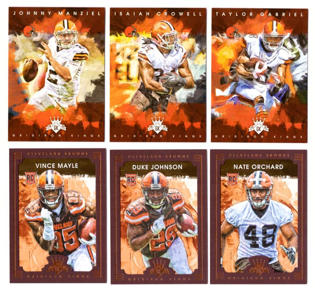 2015 Gridiron Kings (1-200) Team Set - CLEVELAND BROWNS