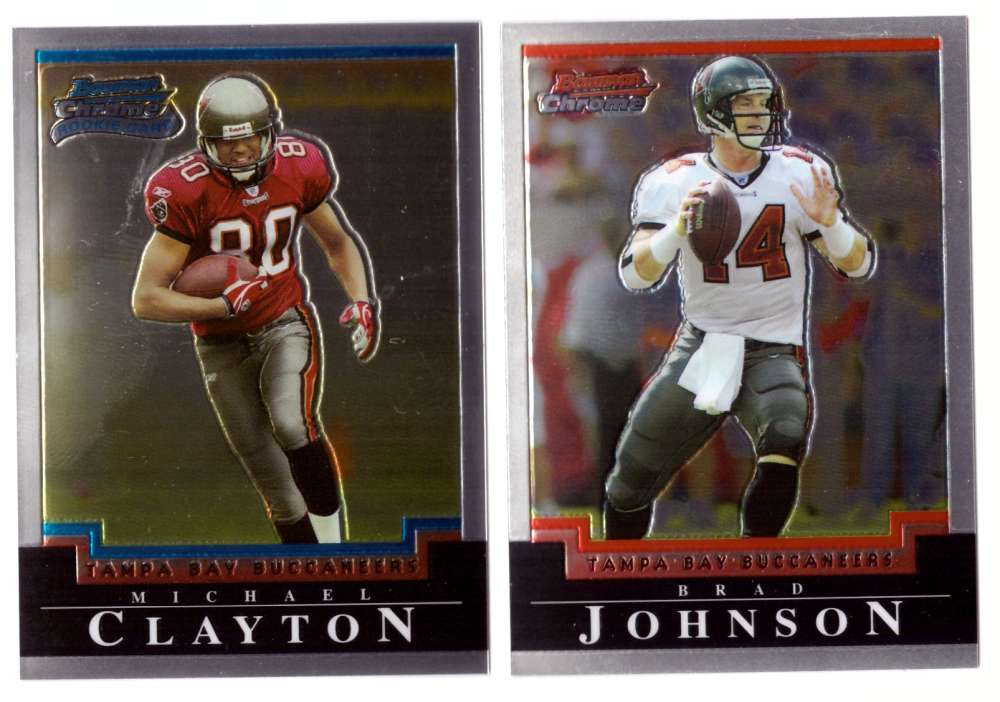 2004 Bowman Chrome Football Team Set - TAMPA BAY BUCCANEERS
