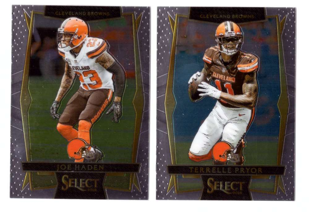 2016 Select Football (Base 1-100) - CLEVELAND BROWNS