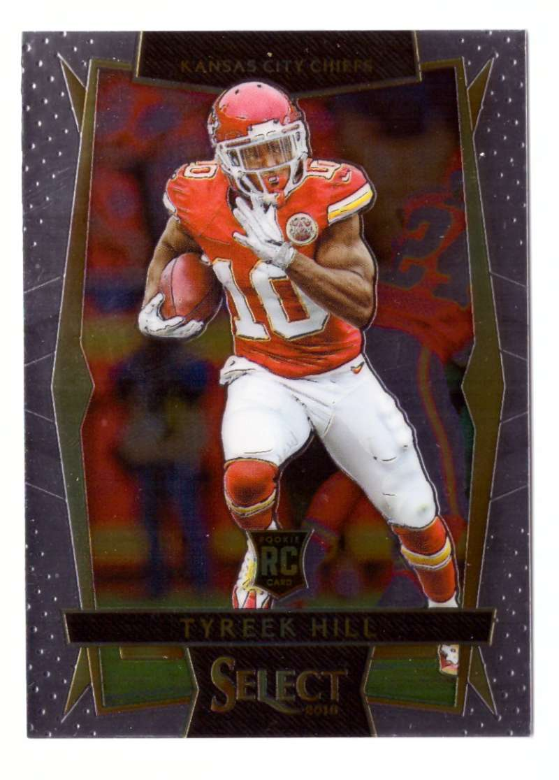 2016 Select Football (Base 1-100) - KANSAS CITY CHIEFS
