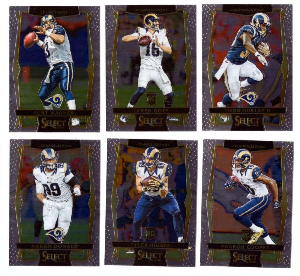 2016 Select Football (Base 1-100) - Los Angeles Rams
