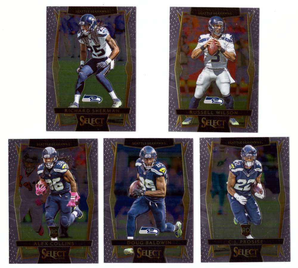 2016 Select Football (Base 1-100) - SEATTLE SEAHAWKS