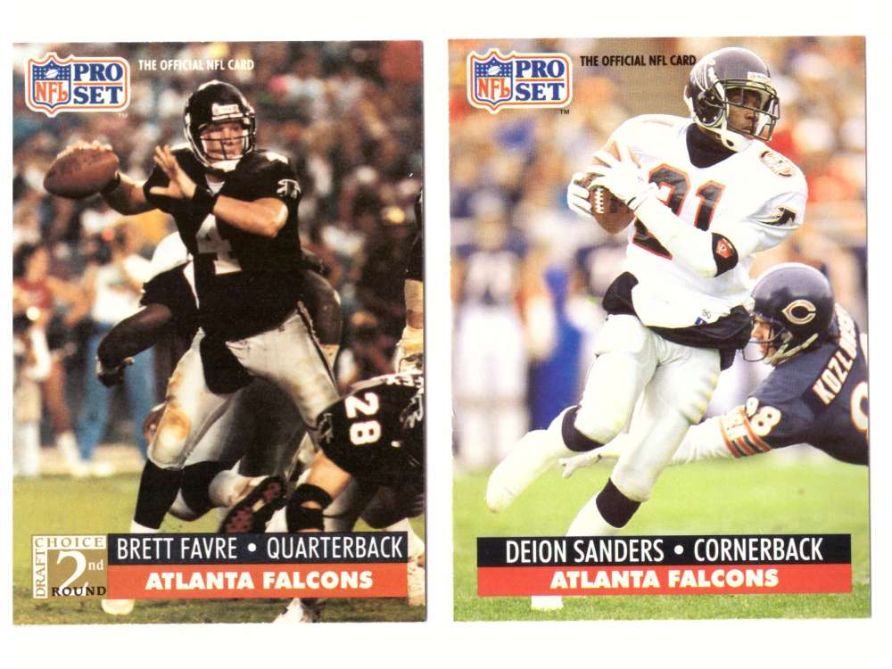 1991 Pro Set Football Team Set - ATLANTA FALCONS