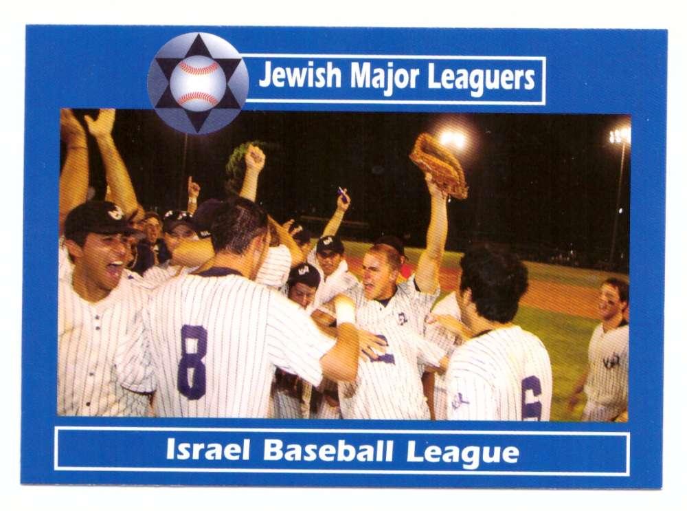2008 Jewish Major Leaguers #38 Israeli Baseball League