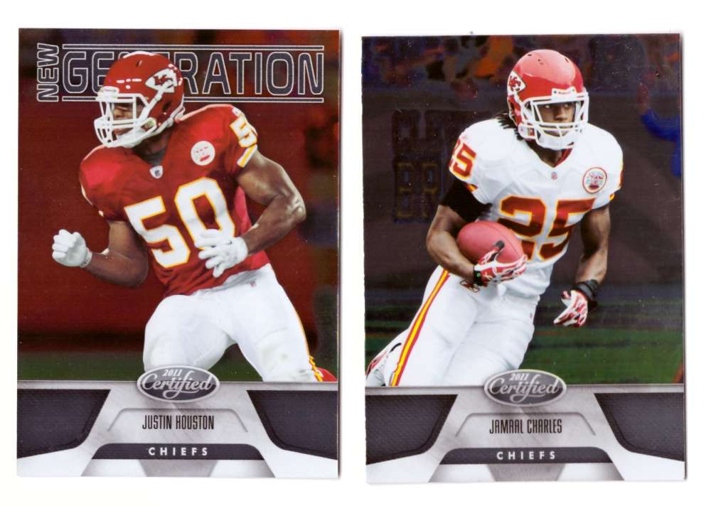 2011 Certified (1-250) Football Team Set - KANSAS CITY CHIEFS