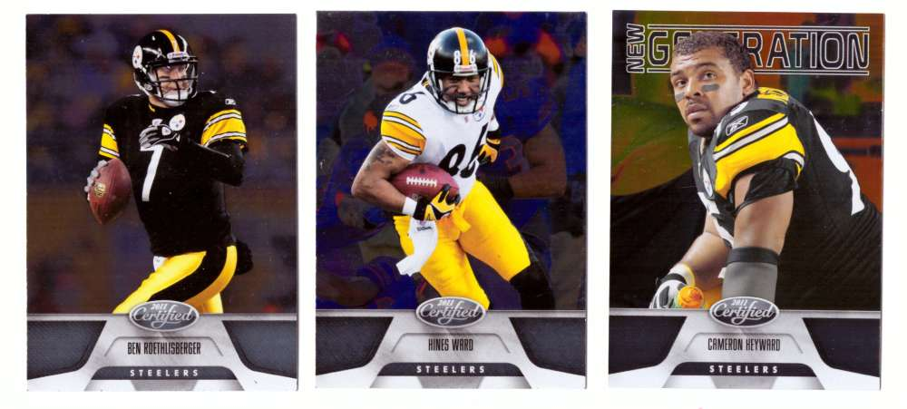 2011 Certified (1-250) Football Team Set - PITTSBURGH STEELERS