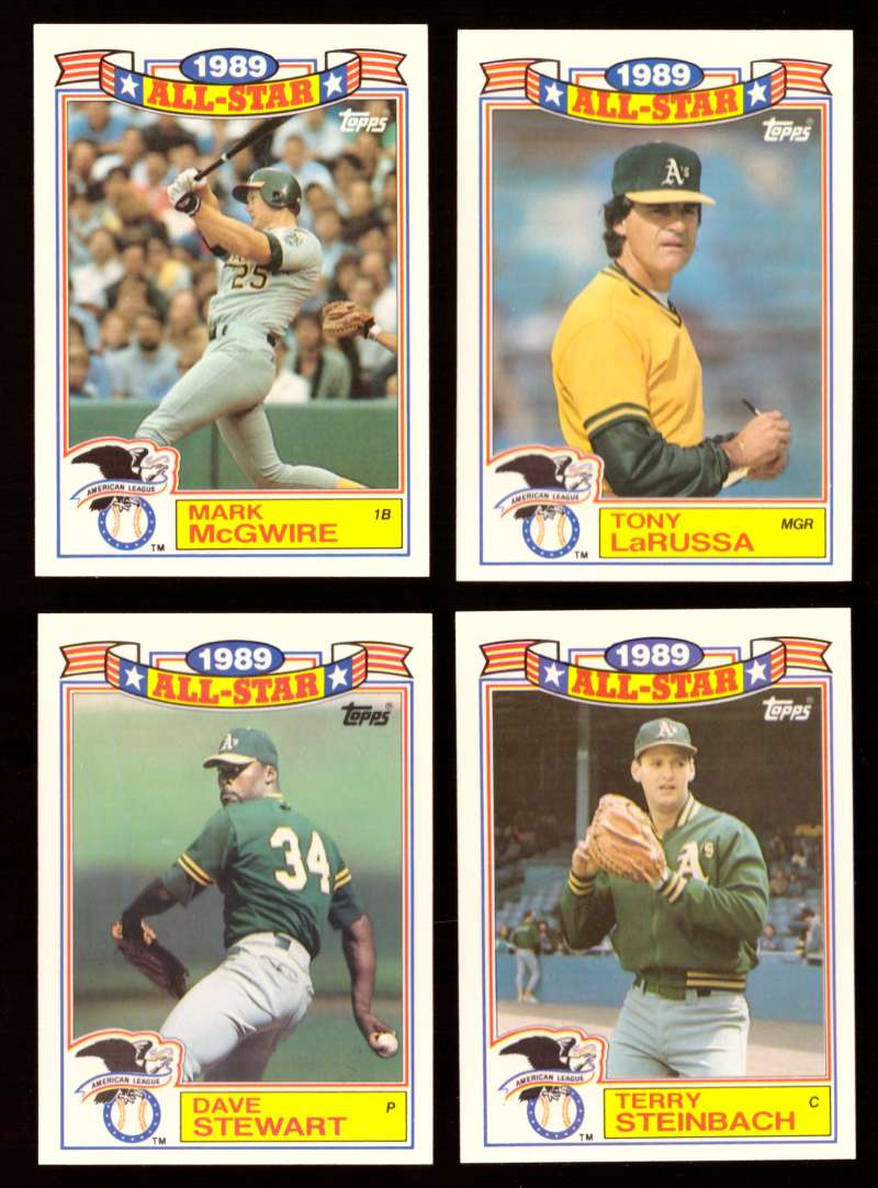 1990 Topps Glossy All-Stars - OAKLAND As
