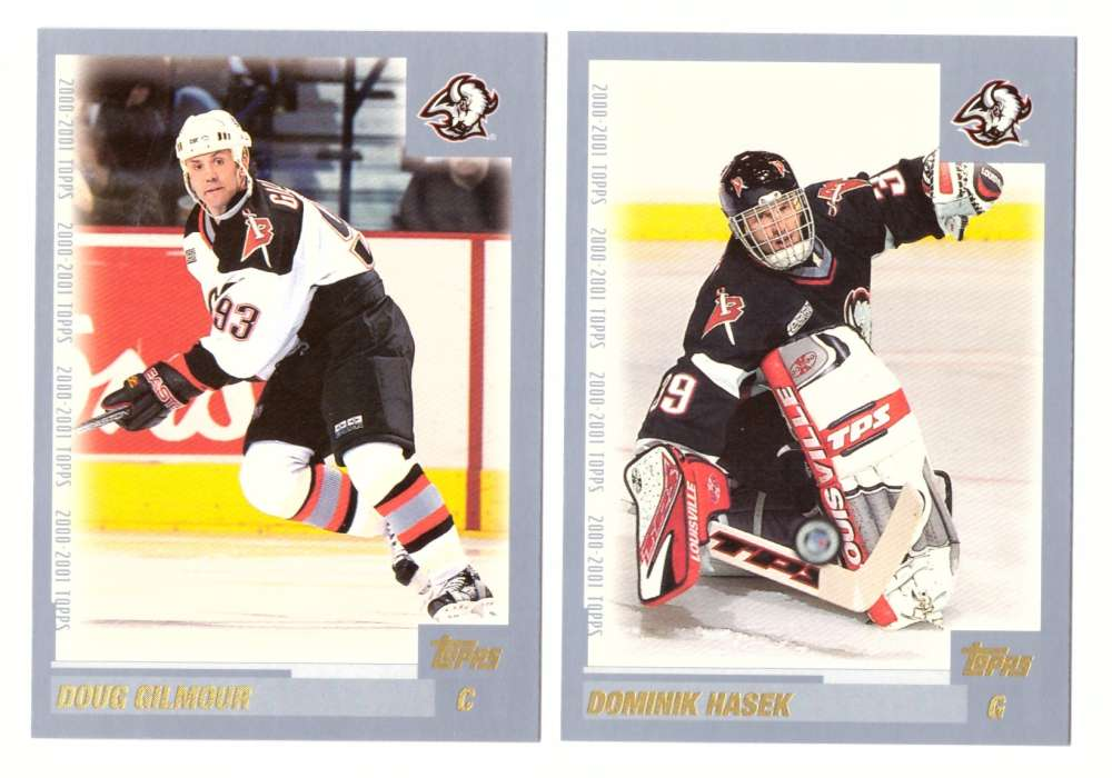 2000-01 Topps Hockey Team Set - Buffalo Sabres