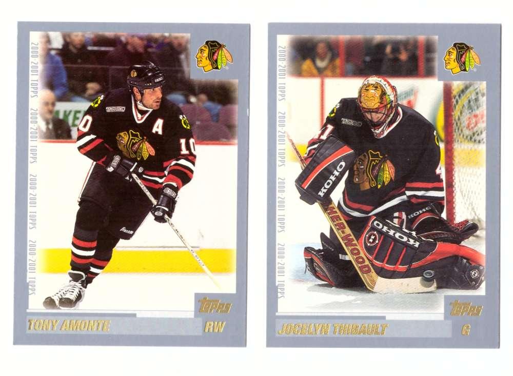 2000-01 Topps Hockey Team Set - Chicago Blackhawks
