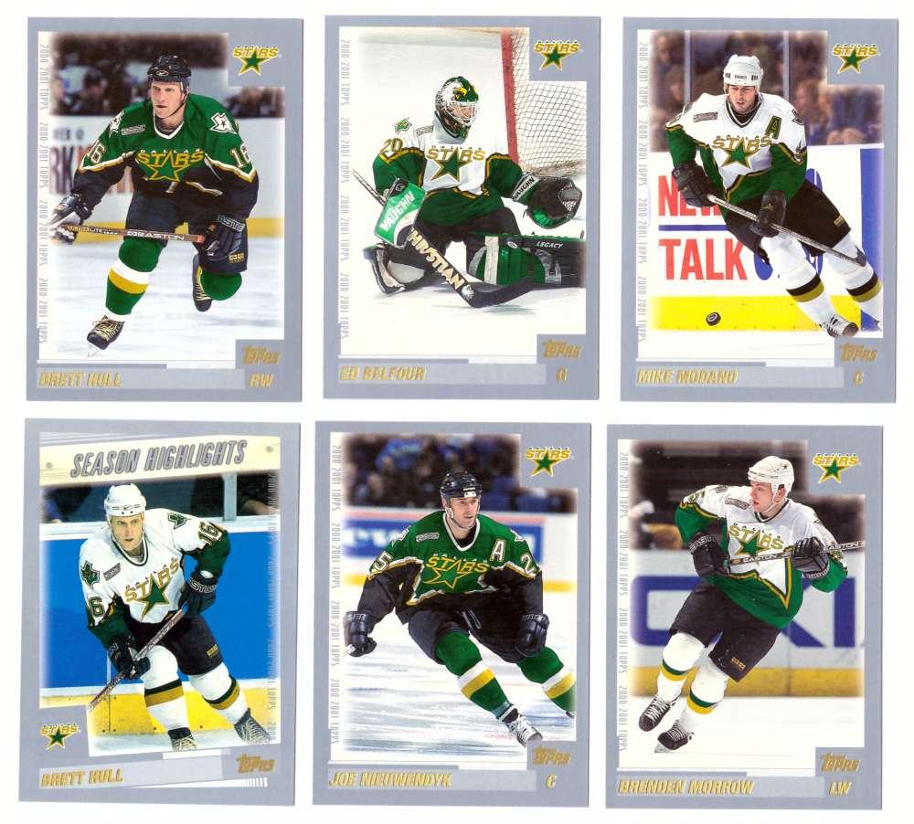 2000-01 Topps Hockey Team Set - Dallas Stars