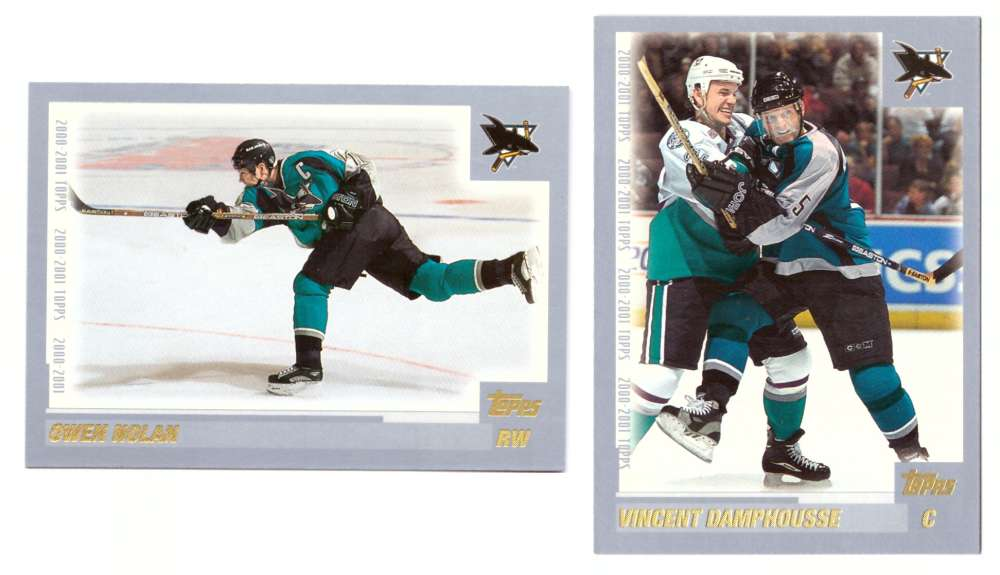 2000-01 Topps Hockey Team Set - San Jose Sharks