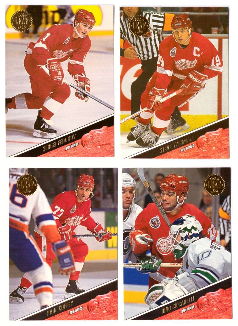 1993-94 Leaf Hockey Team Set - Detroit Red Wings