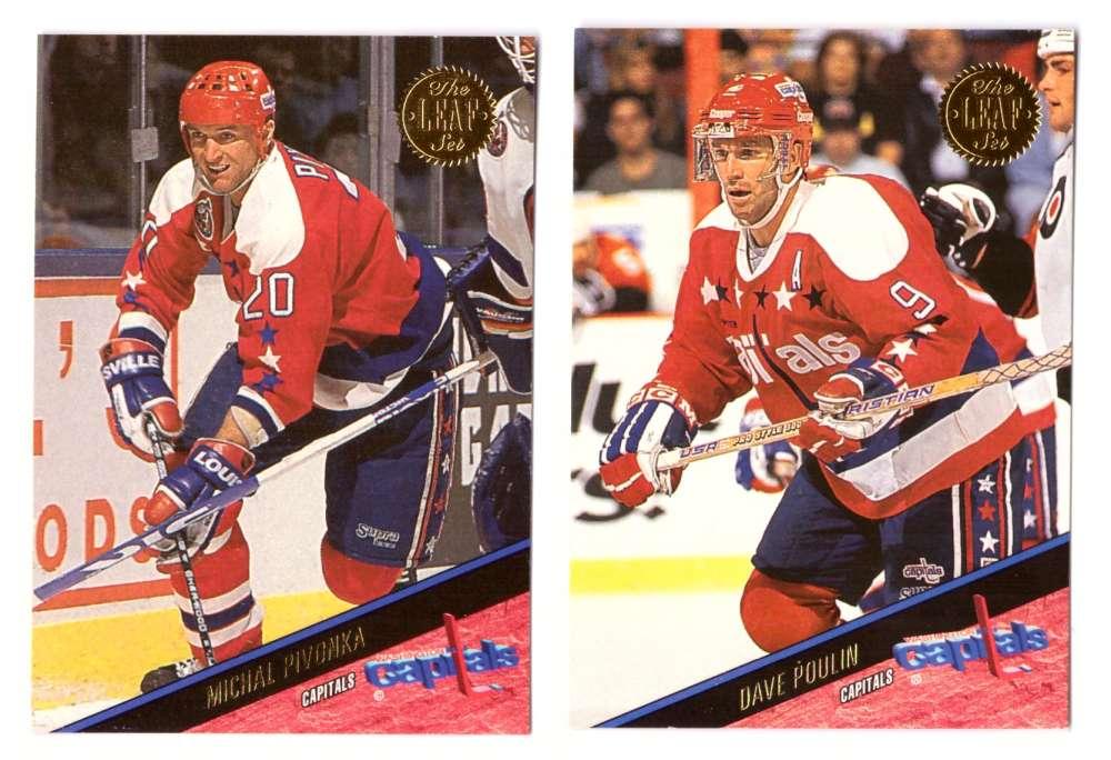 1993-94 Leaf Hockey Team Set - Washington Capitals
