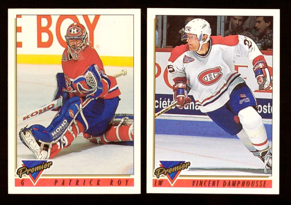 1993-94 Topps Premier Hockey Team Set - Montreal Canadiens