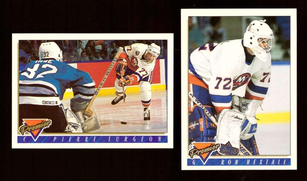 1993-94 Topps Premier Hockey Team Set - New York Islanders