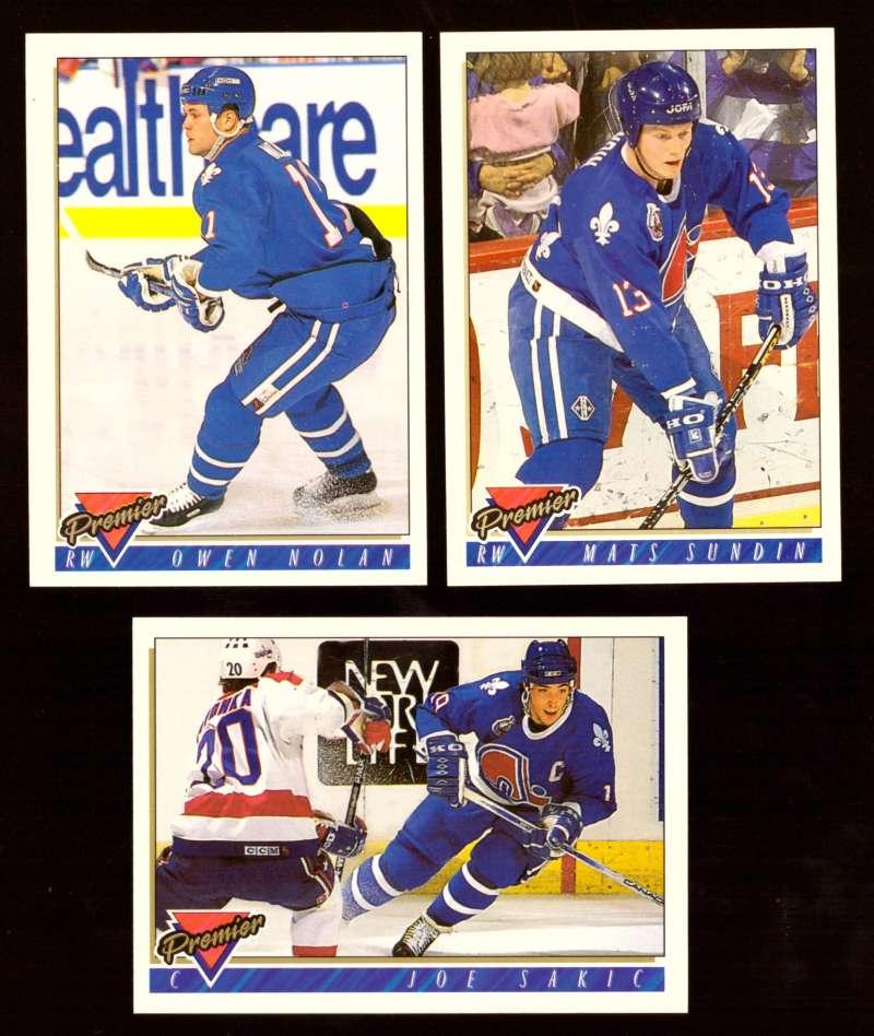 1993-94 Topps Premier Hockey Team Set - Quebec Nordiques