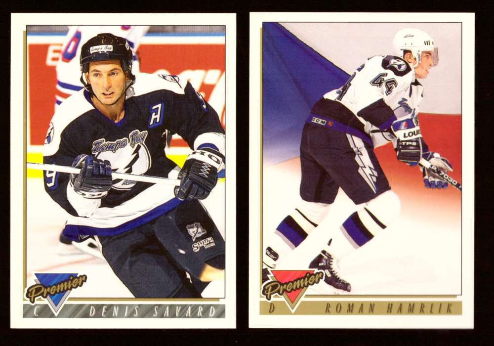 1993-94 Topps Premier Hockey Team Set - Tampa Bay Lightning