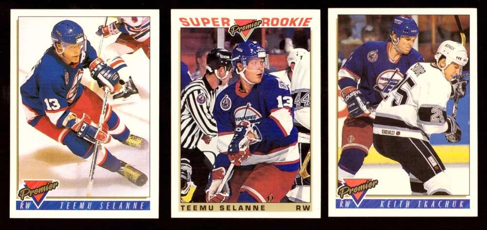 1993-94 Topps Premier Hockey Team Set - Winnipeg Jets