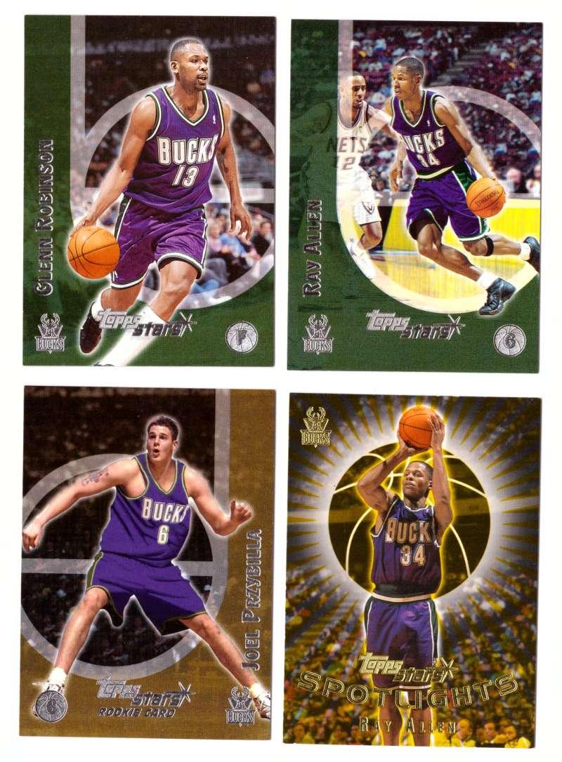 2000-01 Topps Stars Basketball - Milwaukee Bucks