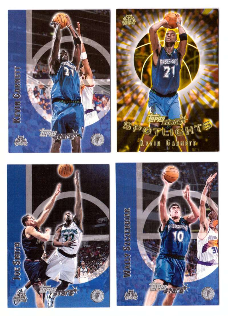 2000-01 Topps Stars Basketball - Minnesota Timberwolves