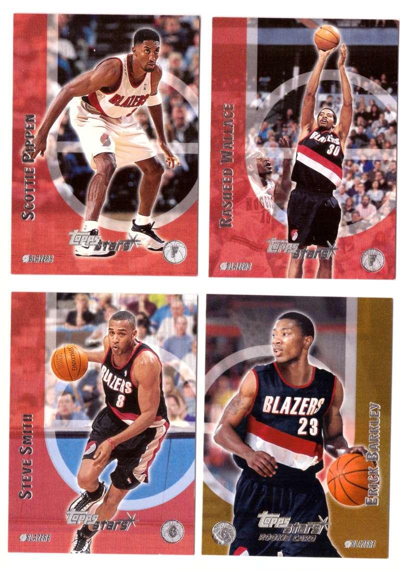2000-01 Topps Stars Basketball - Portland Trail Blazers