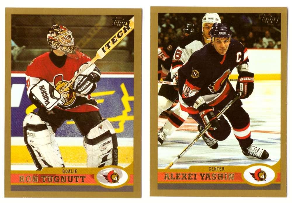 1999-00 Topps Hockey Team Set - Ottawa Senators
