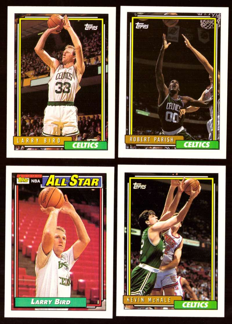 1992-93 Topps Basketball Team Set - Boston Celtics
