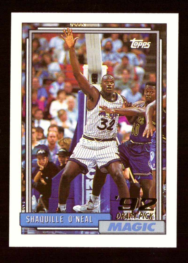 1992-93 Topps Basketball Team Set - Orlando Magic