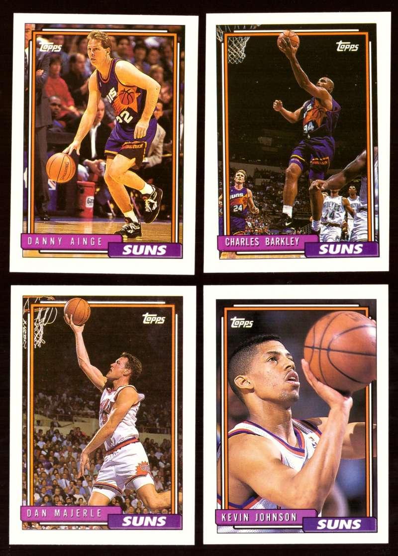 1992-93 Topps Basketball Team Set - Phoenix Suns