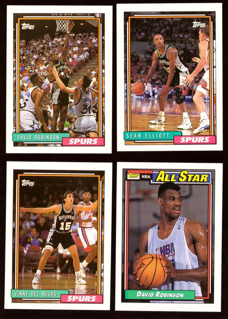 1992-93 Topps Basketball Team Set - San Antonio Spurs