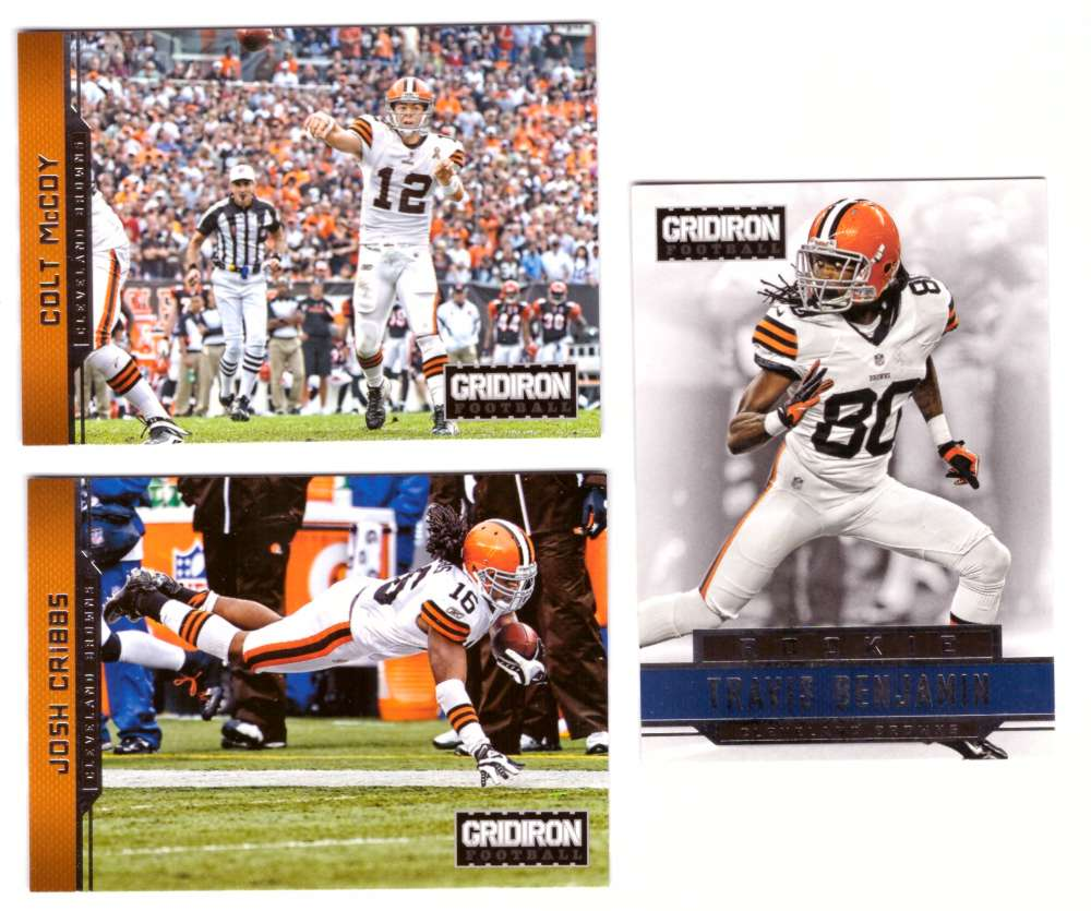 2012 Gridiron (1-300) Football Team Set - CLEVELAND BROWNS